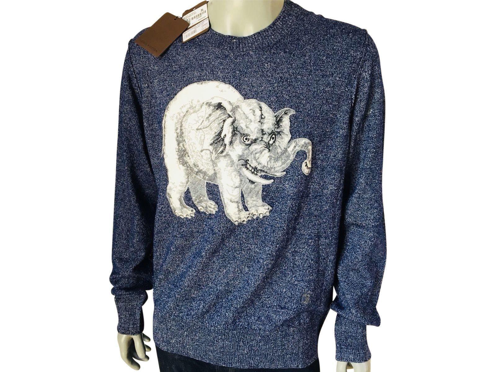 df481de53501 Louis Vuitton Chapman Elephant Crewneck