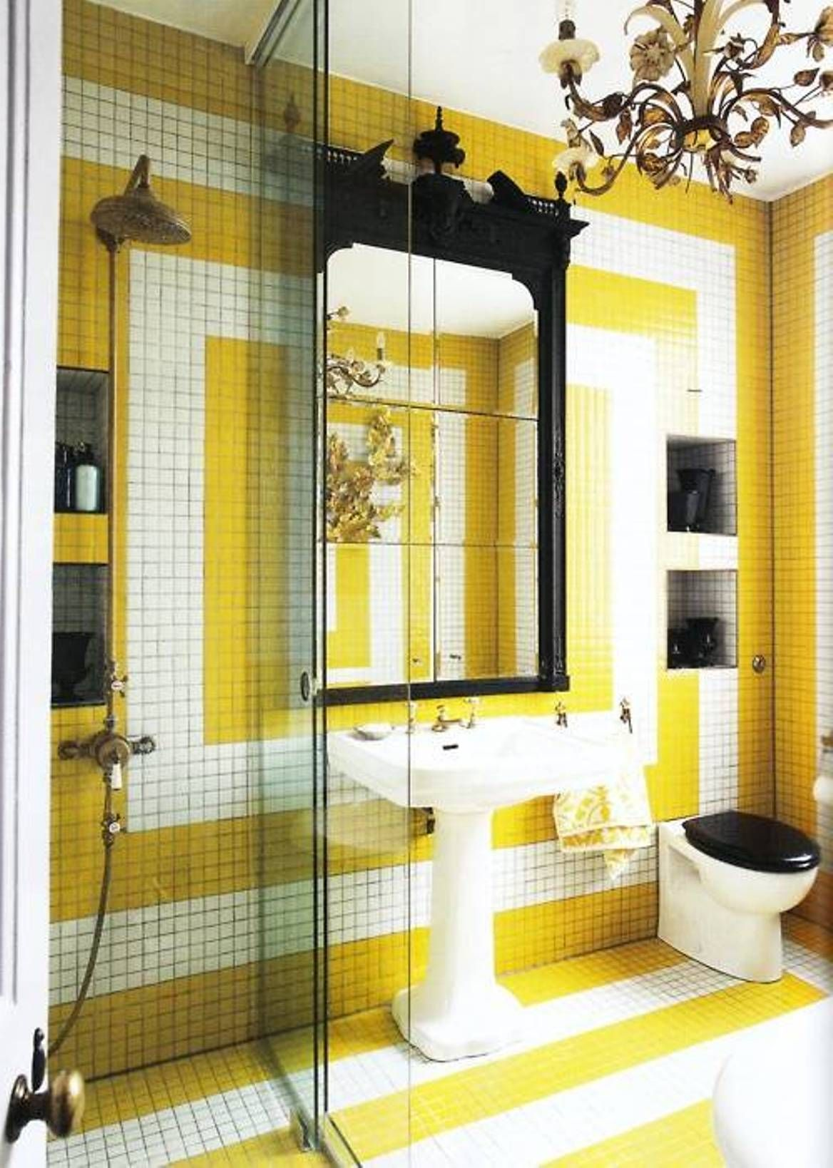 Attractive Bathroom Tiles | Pinterest | Bathroom tiling and Spaces
