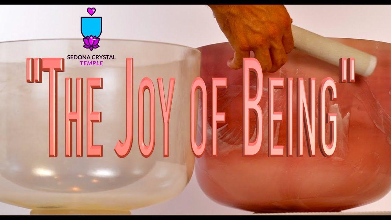 The Joy Of Being Crystal Singing Bowl Binaural Sound Bath In 2020 Singing Bowls Sound Bath Crystals