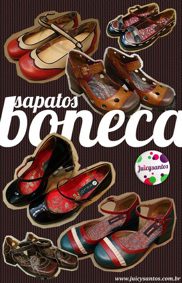63e4b43f5 Sapato boneca - onde comprar   calçado   Sapatos, Sapatos vintage ...