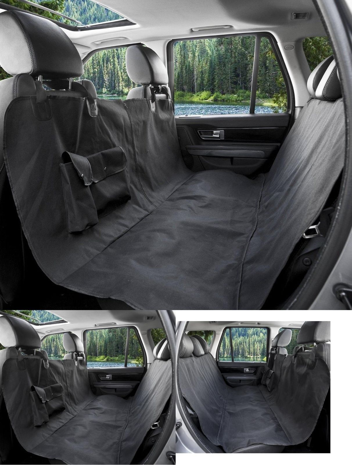 Pet Seat Cover For Cars WaterProof Non Slip And Hammock ConvertibleBlack Color You Can Find More Details By Visiting The Image Link