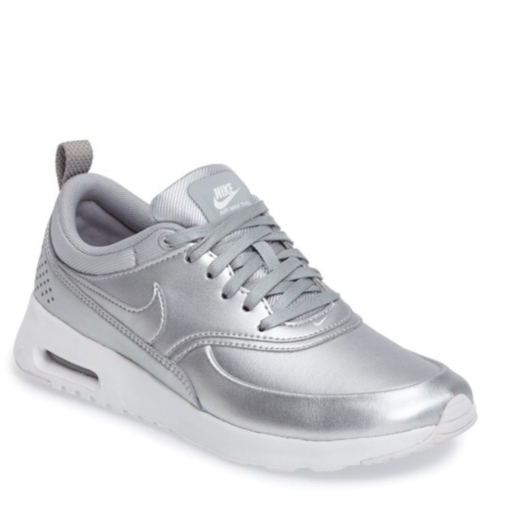 Nike Shoes | Nike Air Max Thea Se | Color: Silver | Size: 7