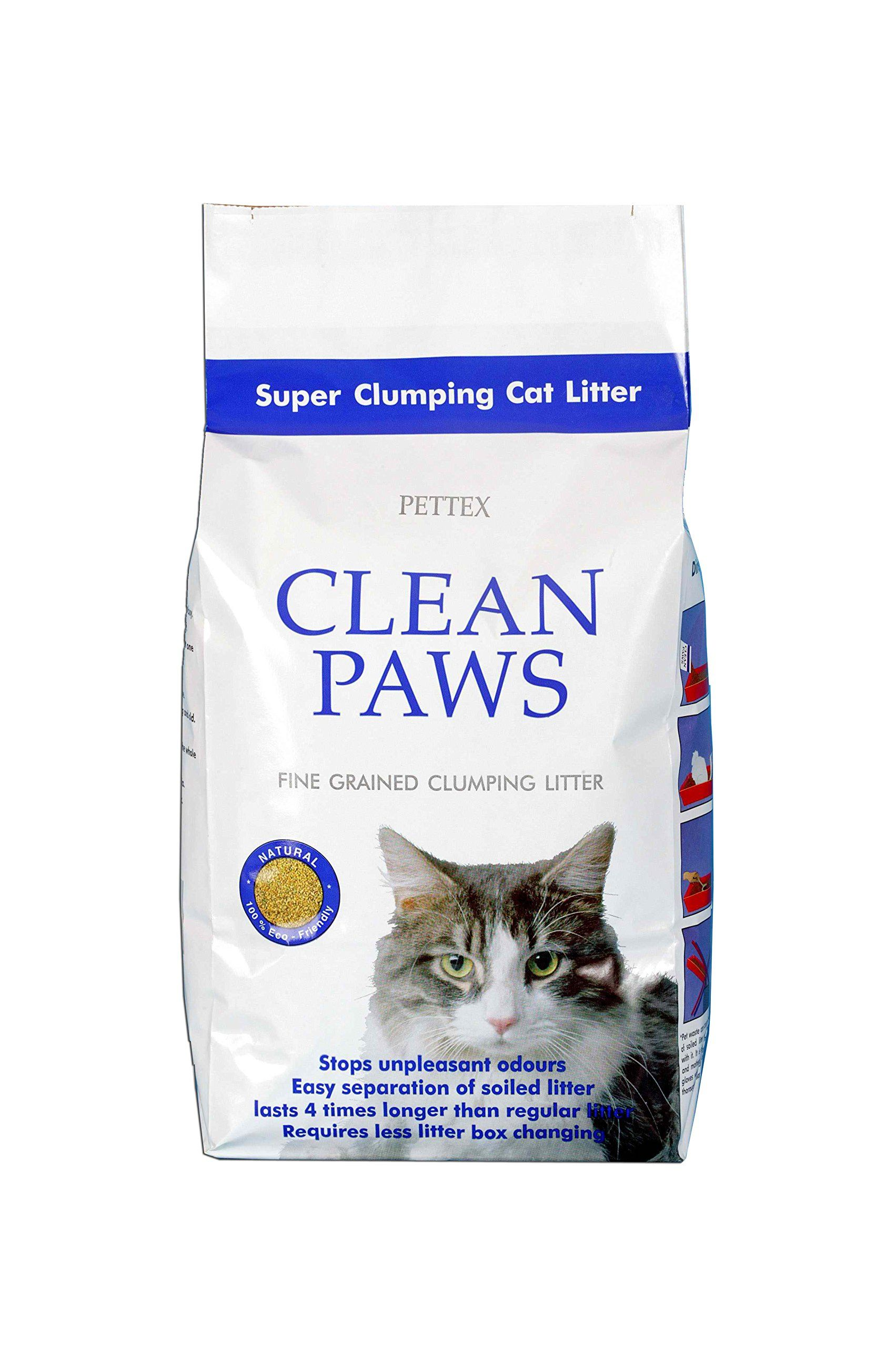 Pettex Clean Paws Super Clumping Ultra Cat Litter 15kg Be Sure To Check Out This Awesome Product This Is An Af Paw Cleaner Cat Litter Clumping Cat Litter