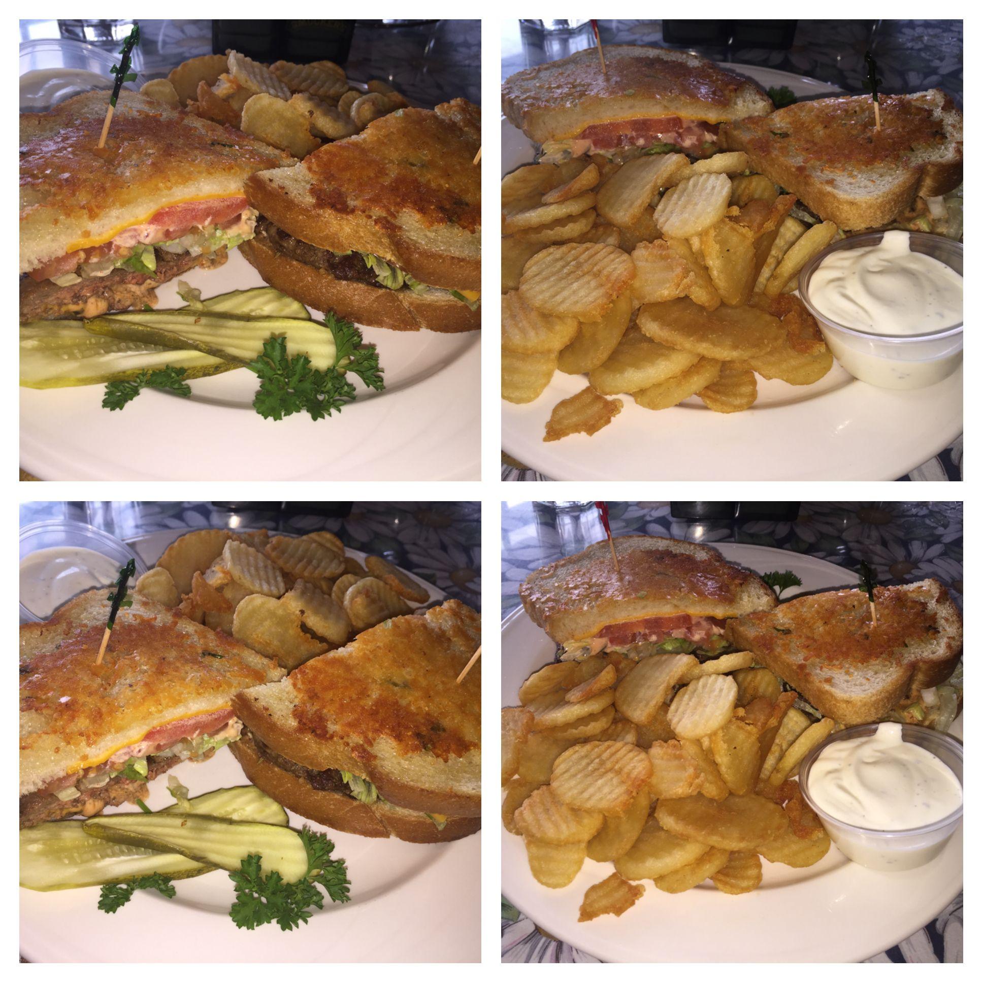 Wilmau0027s Patio, Balboa Island, Newport Beach, CA Sourdough Burger