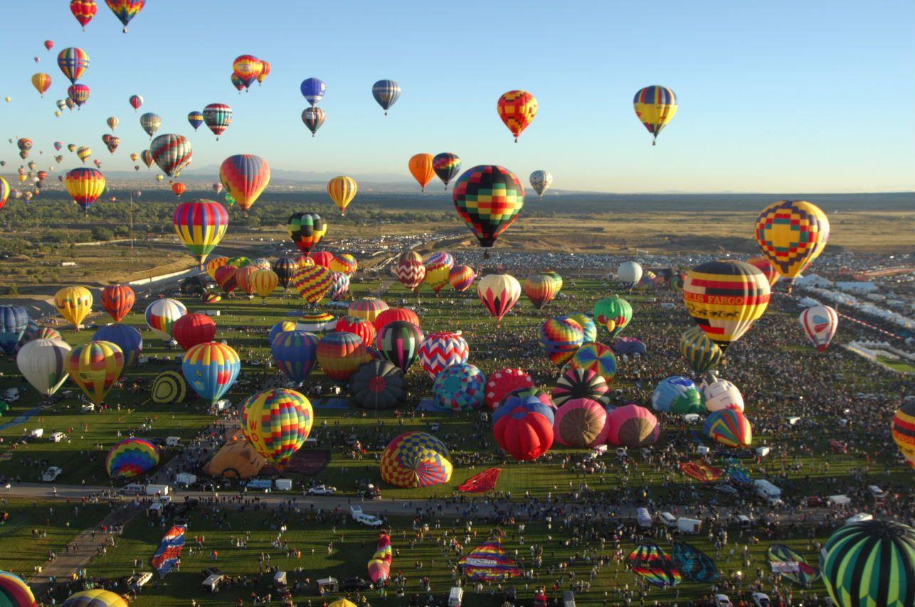 Balloons taking to New Mexico skies in 2020 Air ballon