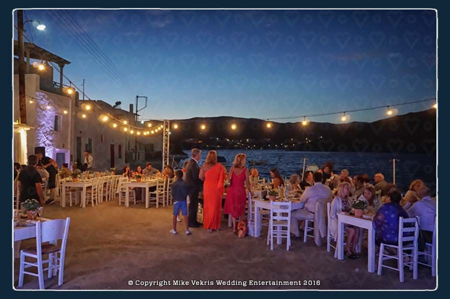 String Lighting Arrangment in Kythnos Island