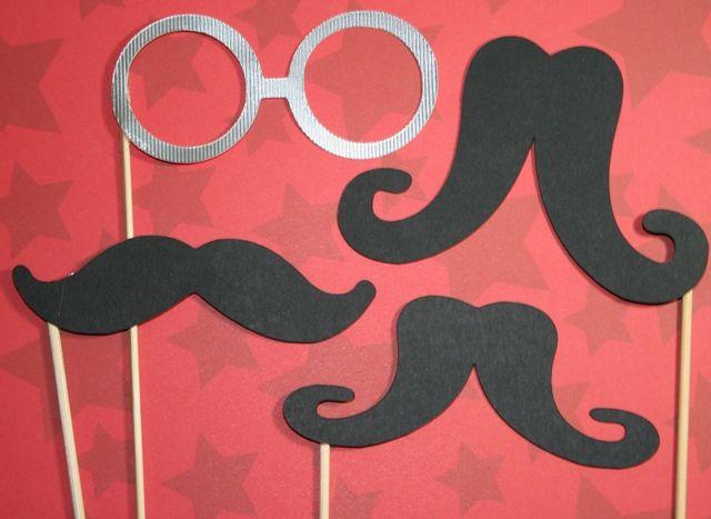 Cricut Lite Billionaire Mustache Glasses Party Cricut Cricut