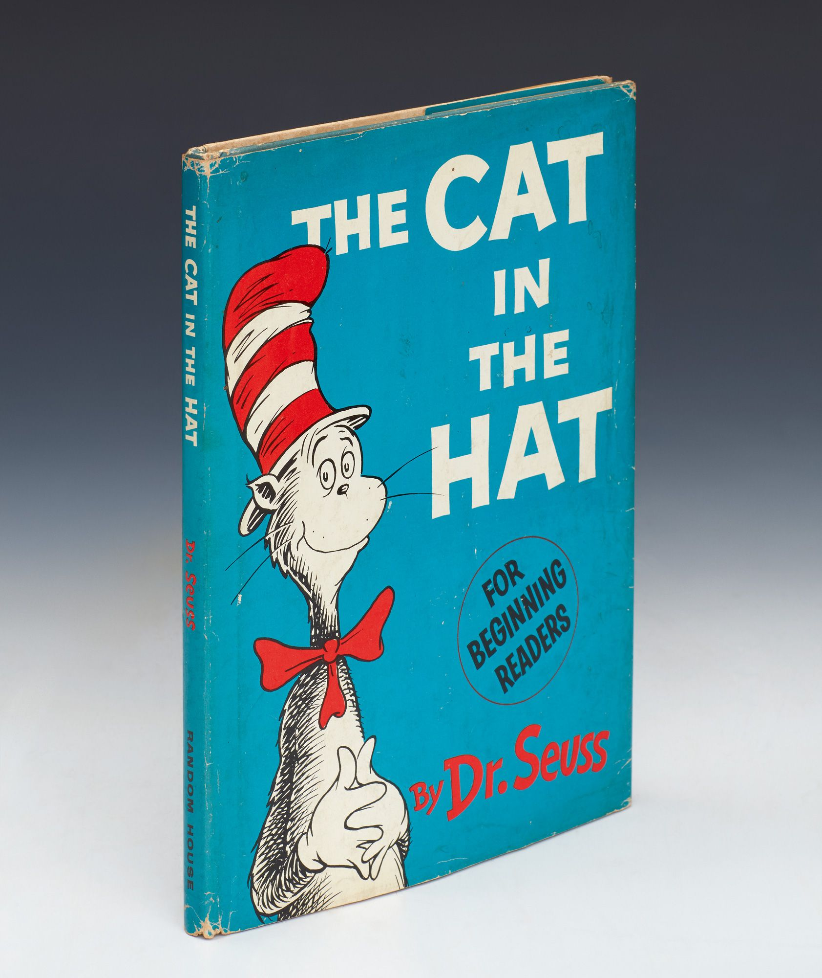 How To Spot A First Edition Sotheby S Dr Seuss The Cat In The Hat First Edition First Issue 1957 Creative Writing Stories Prehistoric Humans Edition
