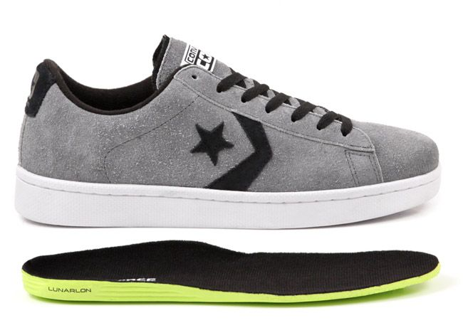 Converse Lunarlon Insole For Sale Cons Pro Leather Skate Sneaker Magazine Sneakers Skate Shoes