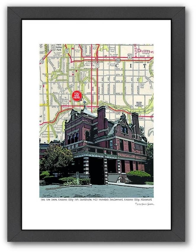 Americanflat Kansas City Art Institute Framed Wall Art | Pinterest ...