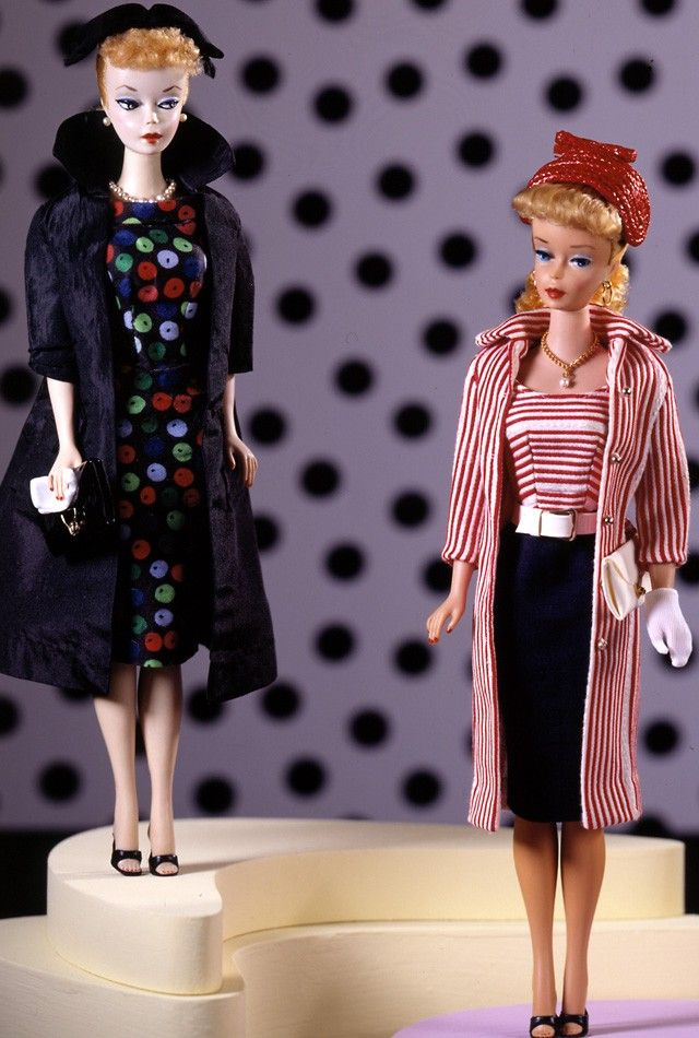 d01fa217013 Number 1 Barbie wearing Easter Parade and number 4 or 5 ponytail wearing  Roman Holiday 1959