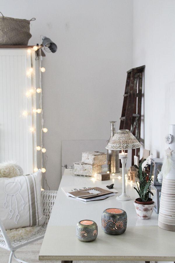 Schlafzimmerdeko im New Boho Look mit schwarz-weißen - schlafzimmer deko bilder