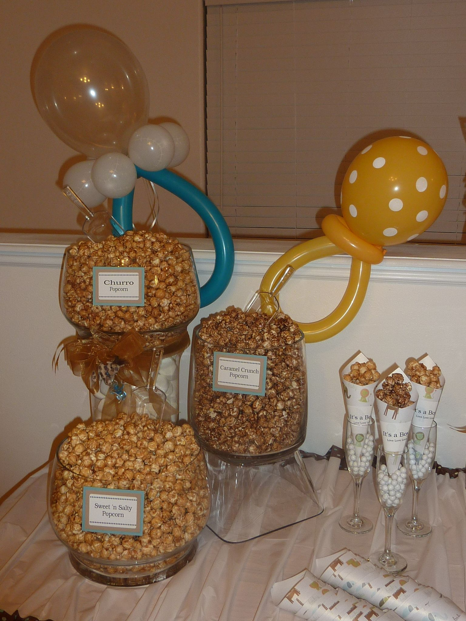 Gruetage Gourmet Popcorn Makes A Great Baby Shower Party Idea I