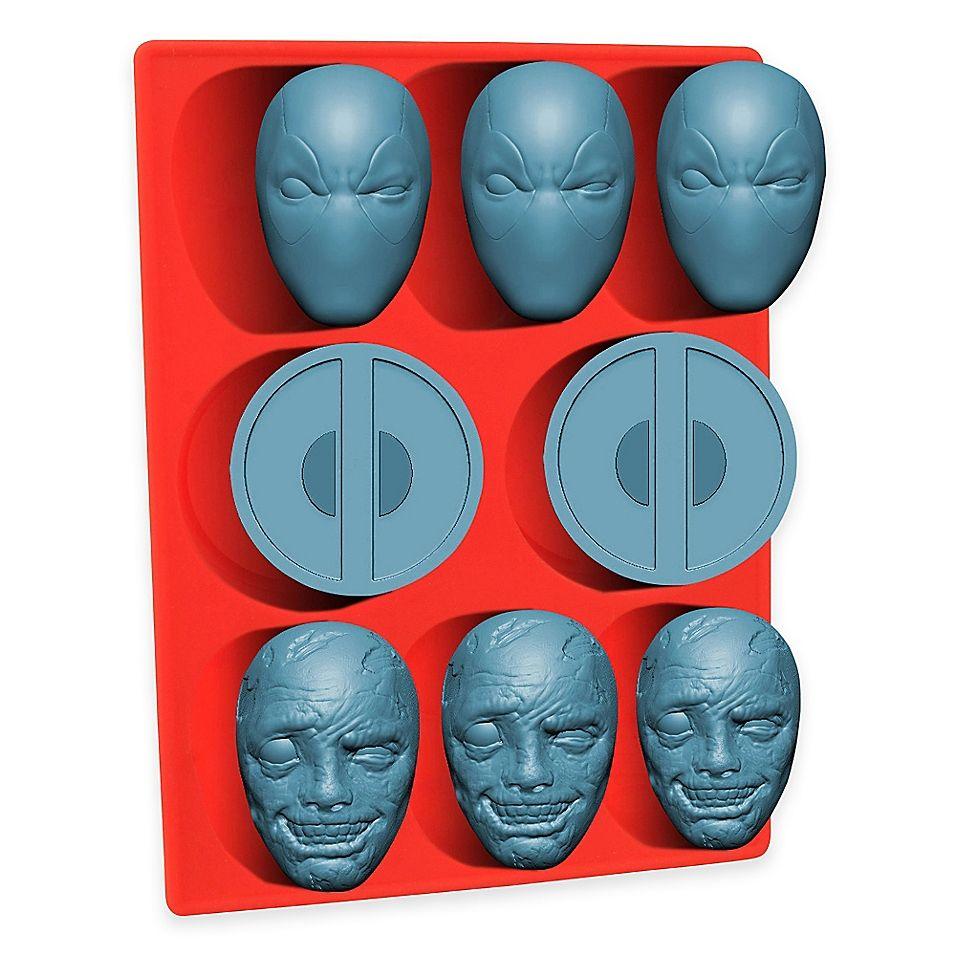 Marvel Deadpool Silicone Mold