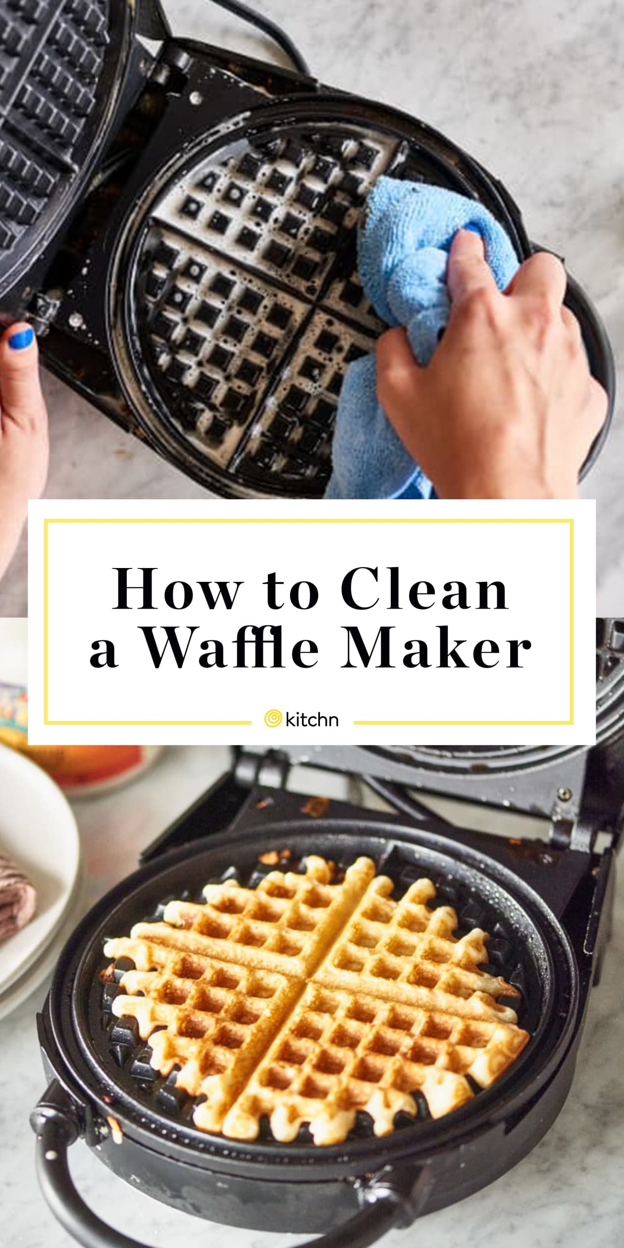 How To Clean An Impossibly Gross Waffle Maker Waffle Maker Recipes Waffles Maker Waffles