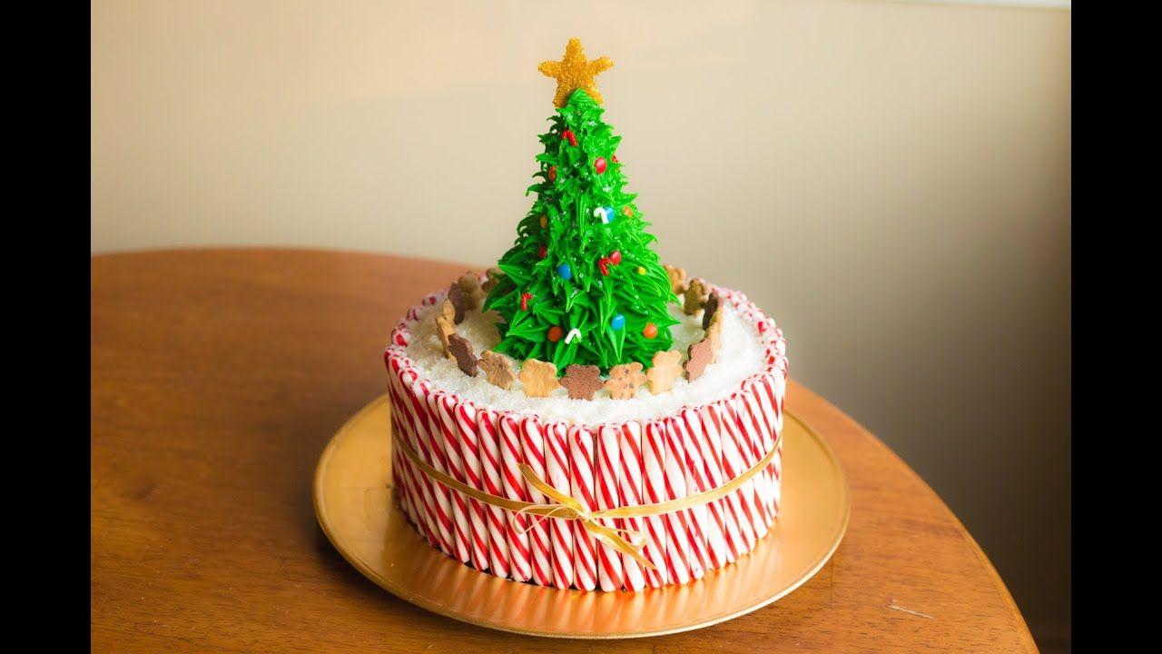 Christmas Tree Cake Christmas cake, Christmas cake