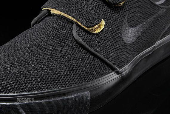 atesorar como una mercancía rara Mitad de precio hermosa en color Nike SB Stefan Janoski Velcro - Black - Yellow - SneakerNews.com ...
