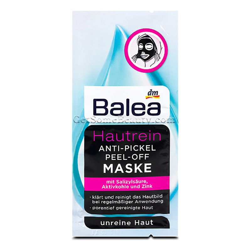 Balea Pure Skin Anti Acne Peel Off Mask Acne Peel Peel Off Mask Pure Products