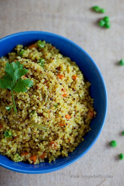 Quinoa upma recipe quinoa meets indian flavors free of gluten quinoa upma recipe quinoa meets indian flavors forumfinder Images