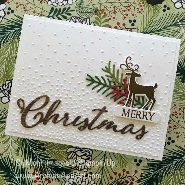 Frohe Weihnachten an alle Sneak Peek   – Carded