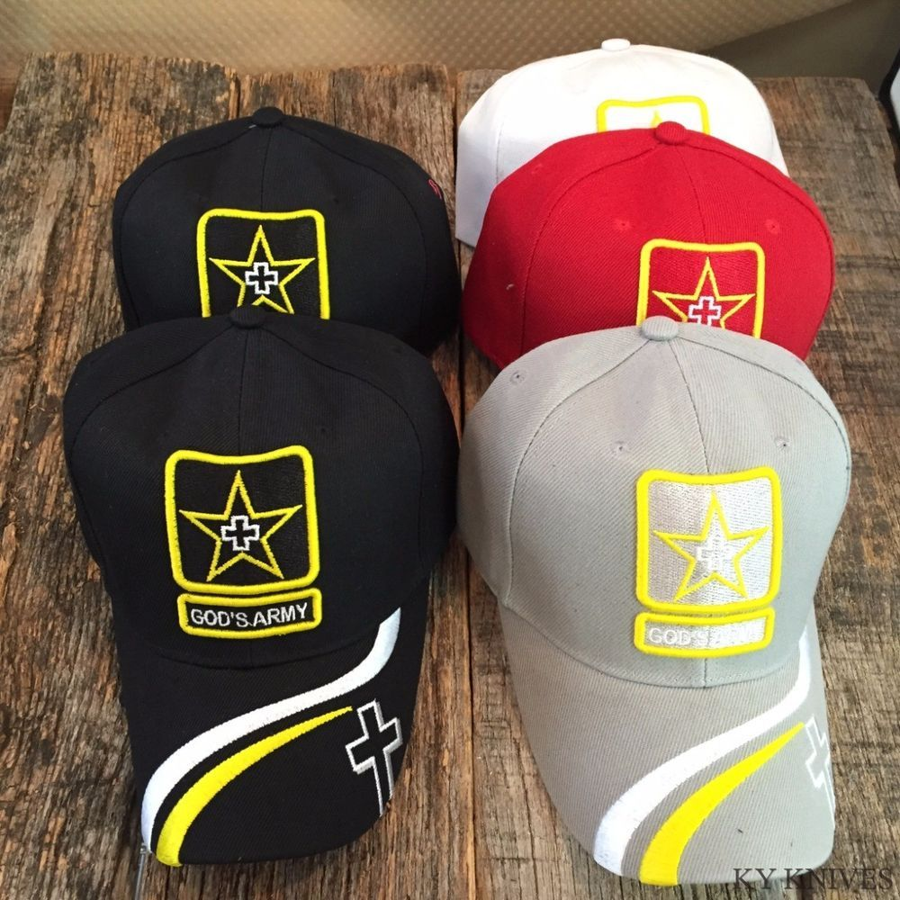 3c33ebd0d2b48 5 LOT WHOLESALE GOD'S ARMY Christian Cap Religious Baseball Hat HT-769  MIX-5 T #fashion #clothing #shoes #accessories #mensaccessories #hats (ebay  link)