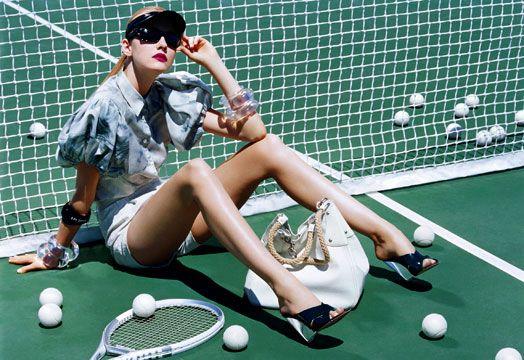 High-fashion tennis???