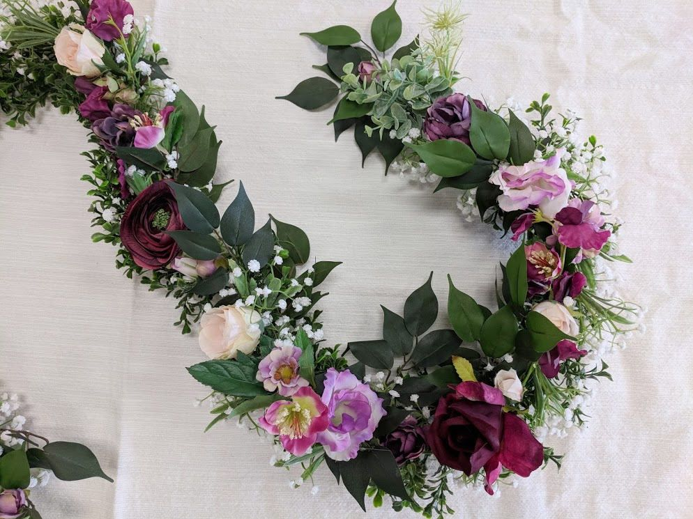 Flower Garland Wedding Flowers Silk Fl