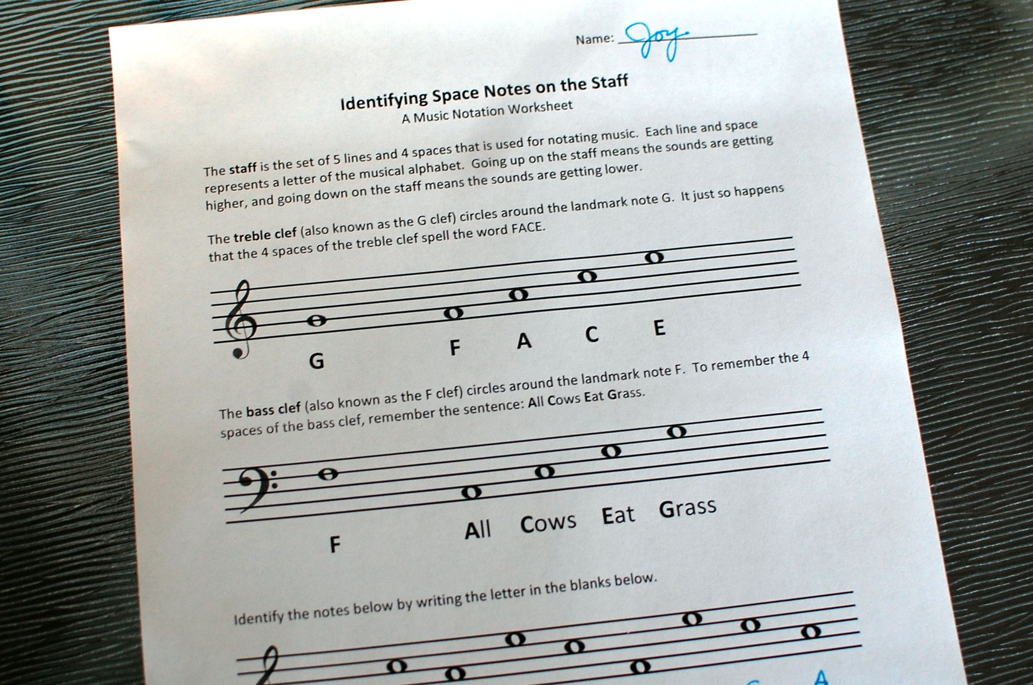 Fine Arts Music Theory And Orchestra Printables