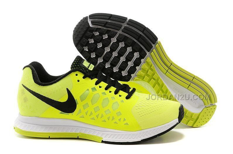 Nike Zoom Pegasus 31 Womens Running Shoes Lemon Yellow Cushion ...