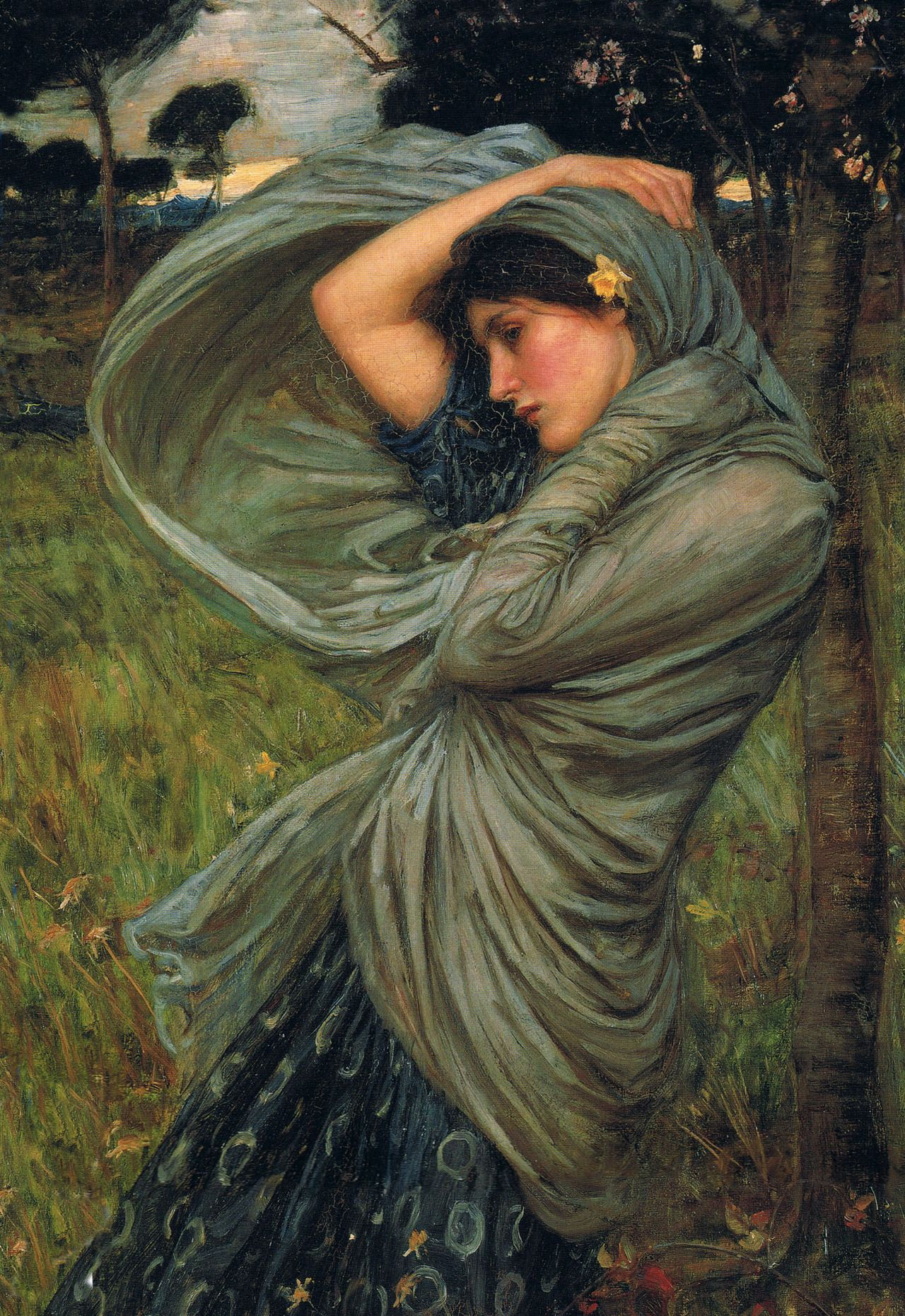 john william waterhouse John william waterhouse: (1849-1917) pre-raphaelite painter particularly known for his depiction of classical subjects and of characters and themes from classical literature and poetry, particularly from the works of dante alighieri, tennyson and shakespeare.
