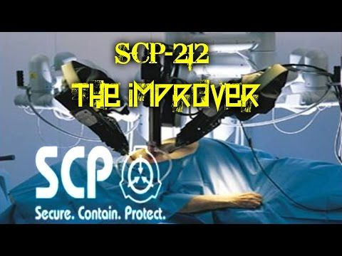 SCP-212 The Improver | Object Class Safe | body horror scp