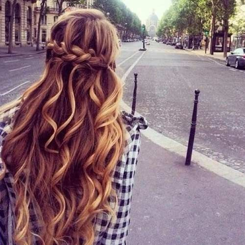 50 French Braid Hairstyles for 2015   Pinterest Wrap Around French Braid for Long Hair