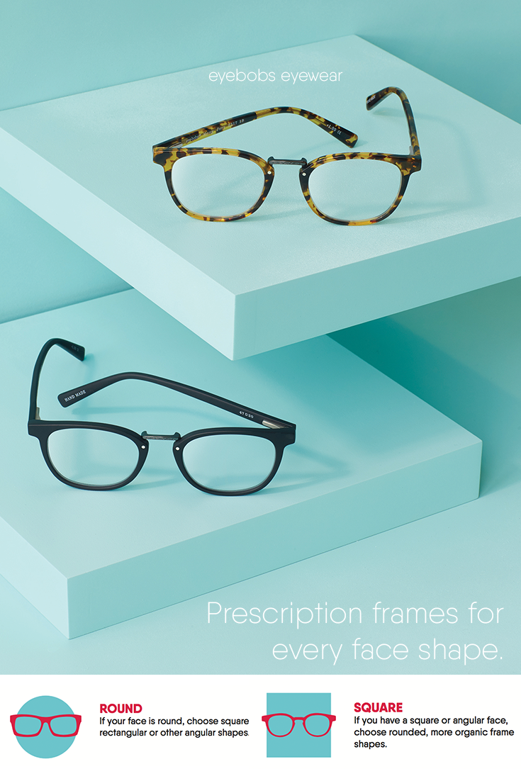 908938671369 Frames for round, square, oval, and heart-shaped faces! Find your perfect  match with eyebobs eyewear.