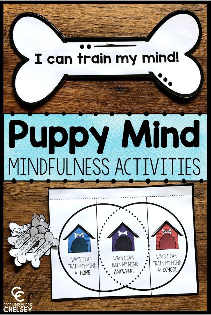 Mindfulness book companion activities puppy mind
