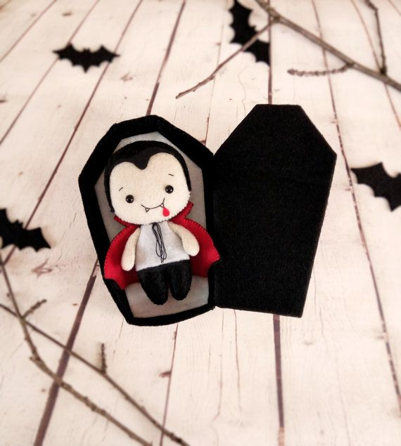 Halloween Decorations Dracula Vampire Soft Toy Felt Bloodsucker - halloween design