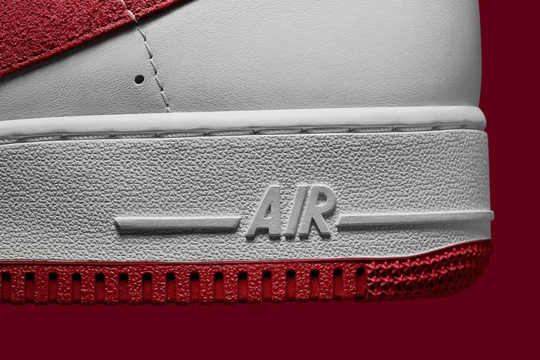 """Nike Air Force 1 High """"NAI KE"""": Nike unveils a reworked version of its  iconic OG Air Force 1 High silhouette from"""