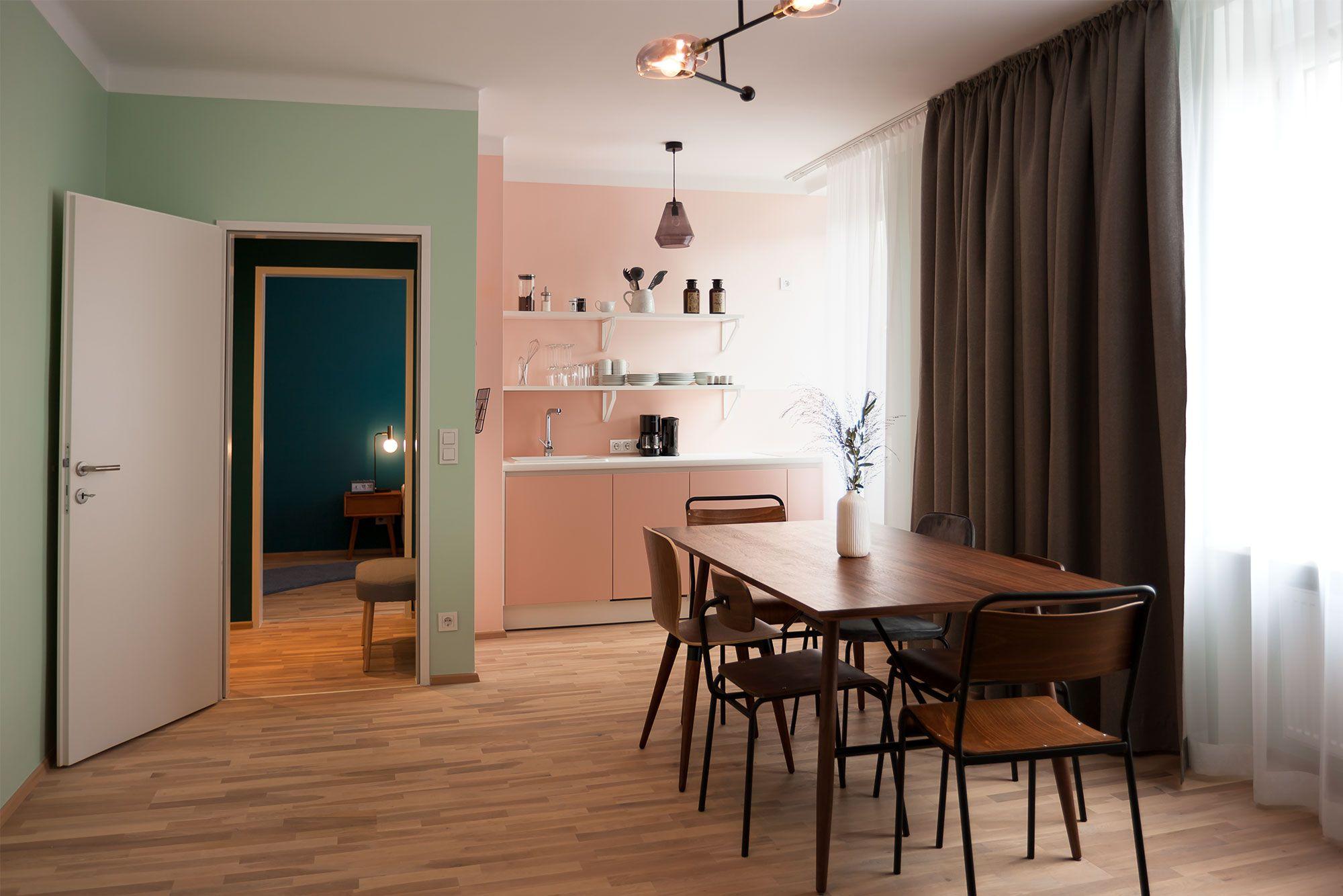 Apartment Large Belvedere in Wien etagerie Wohnung