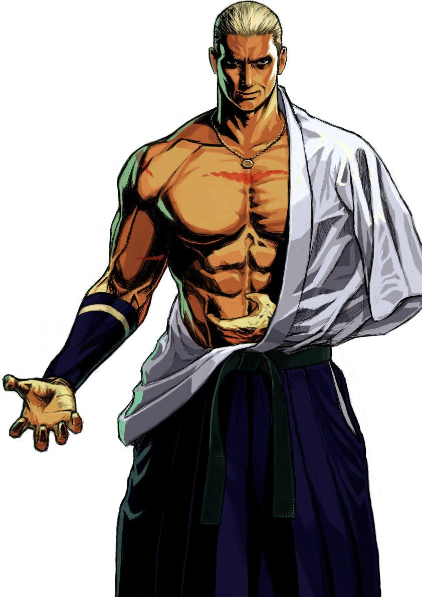 Geese Howard By Te2kichi Street Fighter Art King Of Fighters Martial Arts Manga