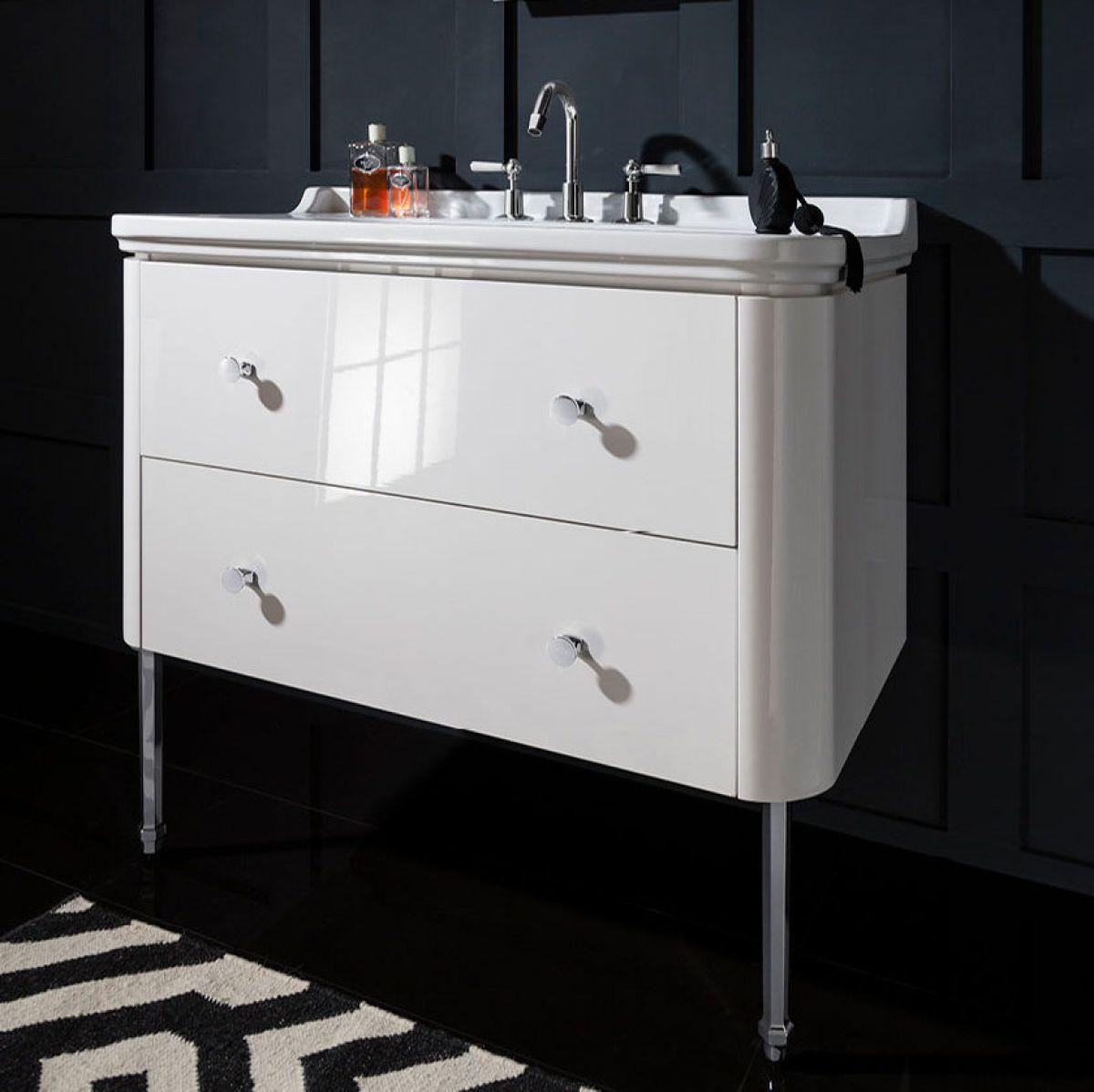 Crosswater (Bauhaus) Waldorf Vanity Unit with Legs