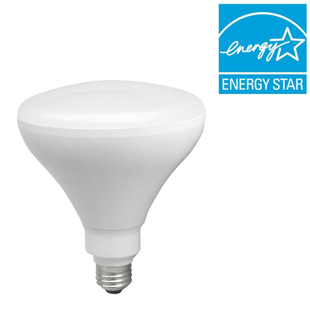 Tcp 85w Equivalent Soft White 2700k Br40 Dimmable Led Flood Light Bulb Dimmable Led Led Flood