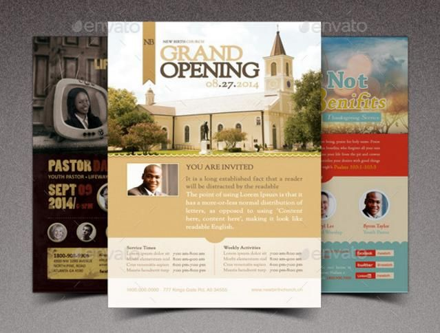 15+ Grand Opening Flyer Template PSD for Shop, Church and Event - grand opening flyer