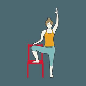 beginner tree pose yoga beginner vrksasana  yoga
