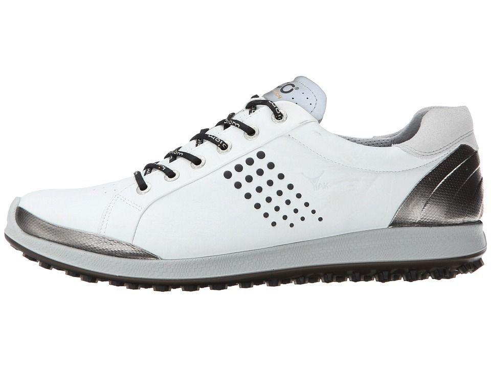 d0d5e5c6f9f0 ECCO Golf BIOM Hybrid 2 Men s Golf Shoes Black White