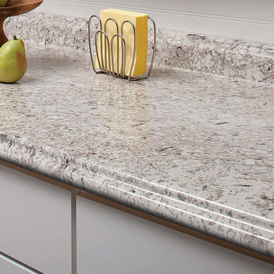 Shop VT Dimensions Formica 4 Ft Ouro Romano Etchings Straight Laminate  Kitchen Countertop At Lowes