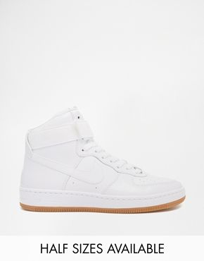 half off 97a03 eb104 Nike Air Force 1 Airness Mid Hi Top Trainers