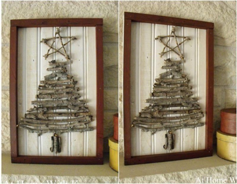 10 #Adorable DIY Wooden Christmas Tree Ideas ...