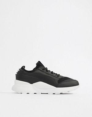 détaillant en ligne d9ebf 05563 Puma Rs-0 Sound Black Trainers | Shoes | Black sneakers ...