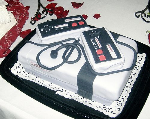 The definitive collection of video game cakes video game cakes do you and your fiance consider yourself nerds and want to incorporate that into your wedding day check out some of these awesome nerdy wedding cakes solutioingenieria Images