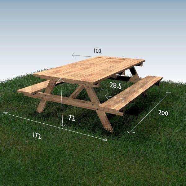 Plan Woodself Meuble Bois Extérieur En 2019 Table De