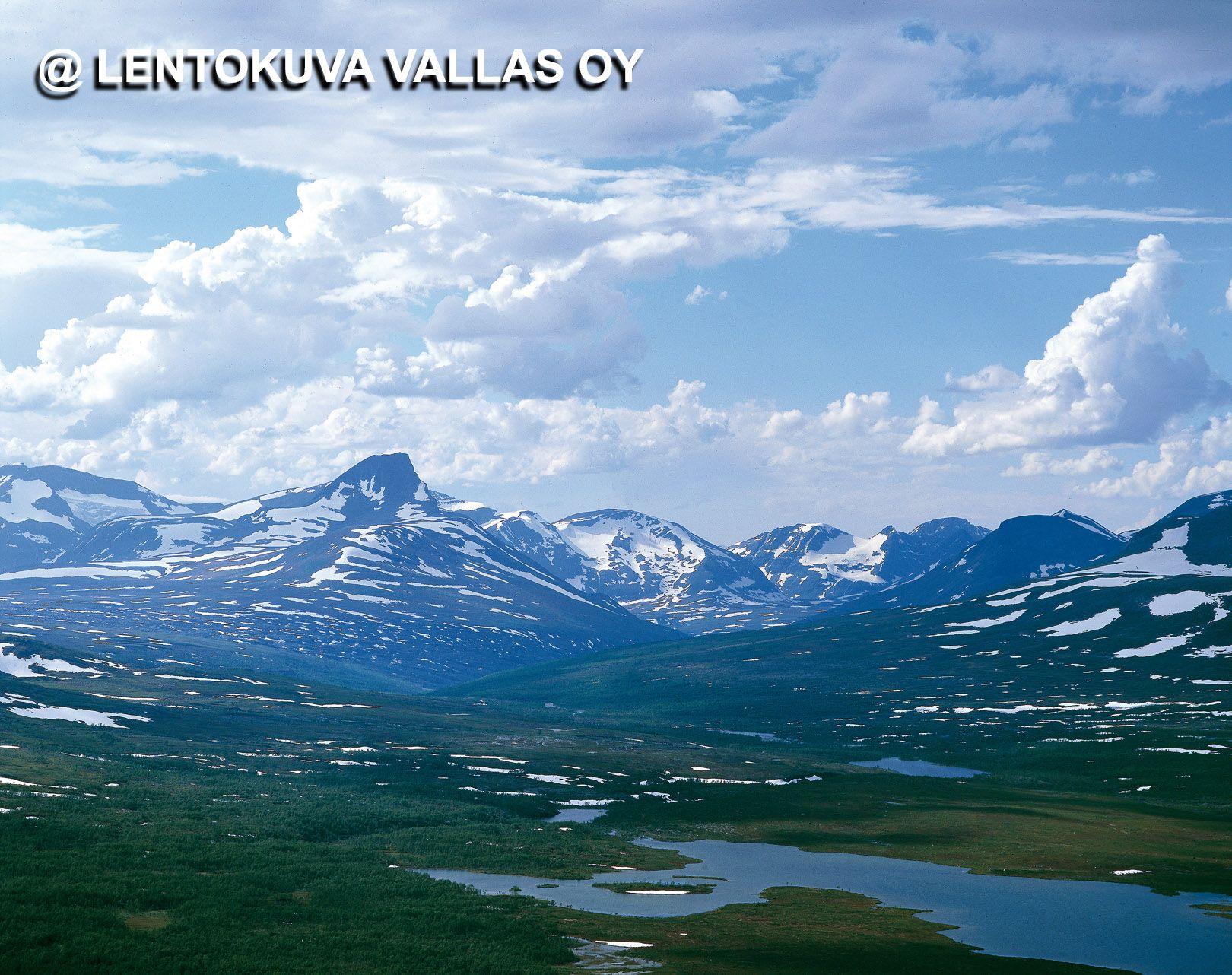Norjan puolella oleva Kölivuoristo Ilmakuva: Lentokuva Vallas Oy